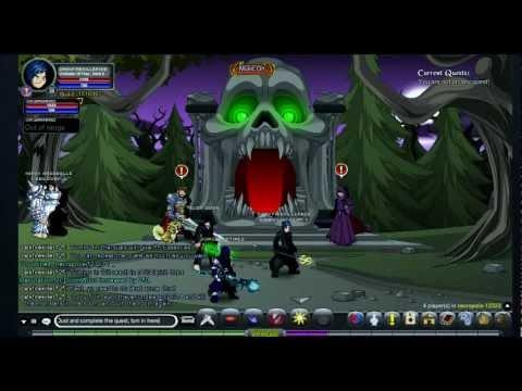 =AQW= Blinding Light of Destiny Farming ~ Spirit Orbs (Part 2)