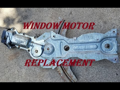 Replacing Window Motor Without Making Holes To Door on Camaro Trans Am 98-02