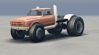 SpinTires Mod - Fast And Furious 1967 Chevrolet Heist Truck Preview