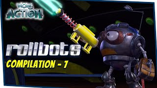 Rollbots In Hindi | Compilation 7 | Hindi Cartoons for Kids | Wow Kidz Action