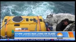 Man Lives Alone on Tiny Scottish Island - Why?
