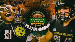 JuJu Smith-Schuster in Hawaii -  Lit on the Sideline! Day 3 Vlog