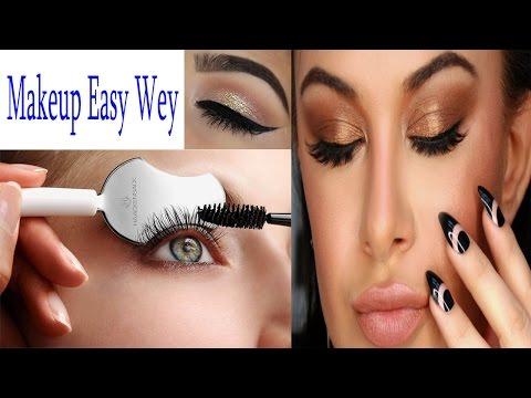 EASY Copper Glitter Smokey Eye Makeup Tutorial  | Easy Eyes n' Face Makeup Tutorial