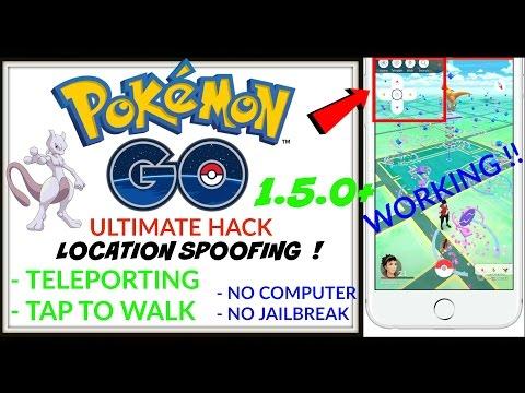 NEW POKEMON GO ULTIMATE HACK 1.13.4 iOS 10, 9.3.5 (NO jailbreak, NO computer) Teleport & tap to walk