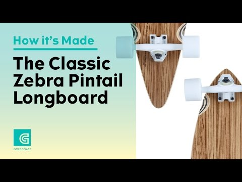 How to Build a Longboard: The GoldCoast Classic Zebra Pintail
