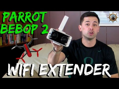 PARROT BEBOP 2 WIFI EXTENDER // HOW TO BOOST SIGNAL