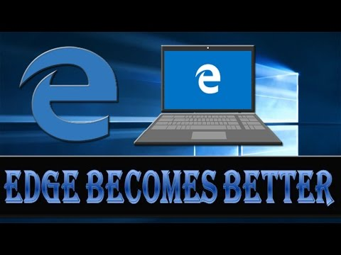 Microsoft Edge Browser Features for Windows 10.