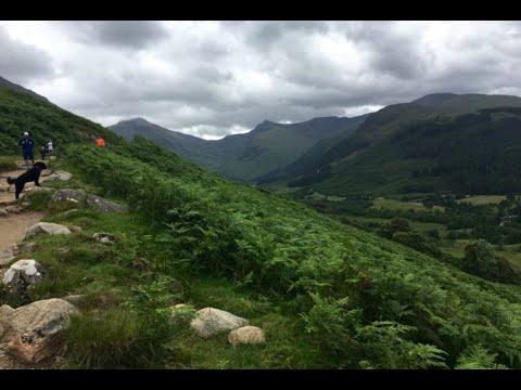 Scotland Highlands: walking tour Loch Ness, Fort William & Augustus, Ben Nevis GoPro HD