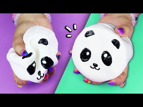 DIY Panda SQUISHY ♥ MAKE YOUR OWN SQUISHIES!