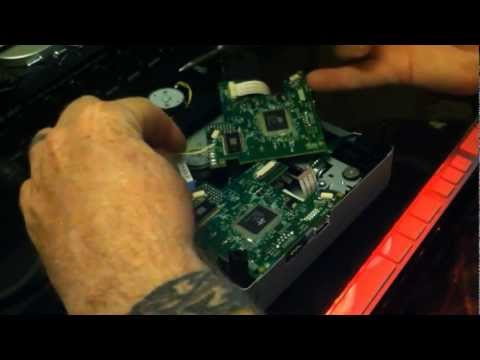 Repairing the Philips Lite-On DVD drive for the XBox 360