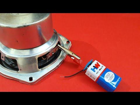 How to check speaker's Ohms/Polarity