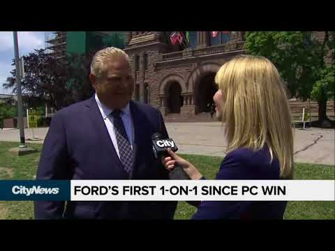 Doug Ford Asked If People Should Be Scared Of Him