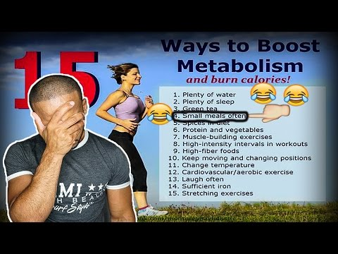 Metabolism when intermittent fasting