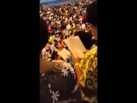 Imitate Jesus Convention in Fiji Singing Song # 121 in Fijian