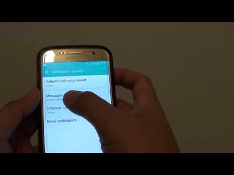 Samsung Galaxy S7: How to Change the Default Notification Sound