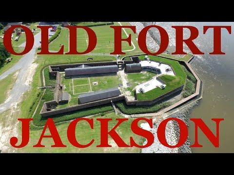 OLD FORT JACKSON, GA | DRONE!