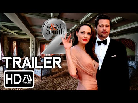 MR  AND MRS  SMITH 2 [HD] Trailer - Brad Pitt, Angelina Jolie (Fan Made)