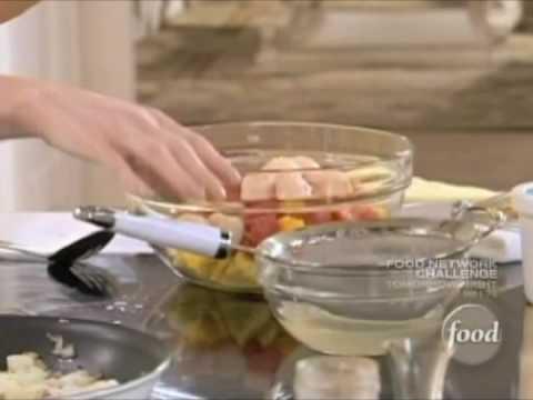 Sandra Lee - Morning Mango Fruit Salad with Key Lime Yogurt