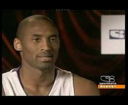 Intervista Kobe Bryant in italiano su Sportitalia 1^PARTE