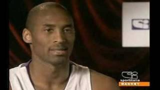 Intervista Kobe Bryant In Italiano Su Sportitalia 1parte