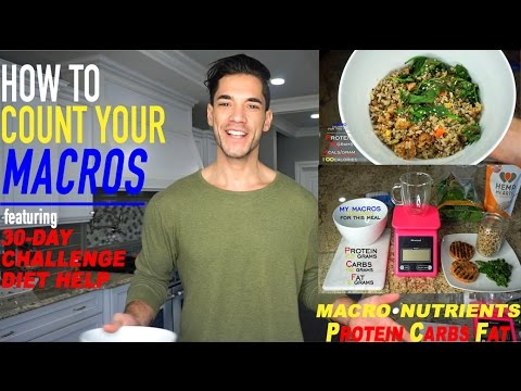 How To Count Macros + 30 Day Challenge Diet Plan Help