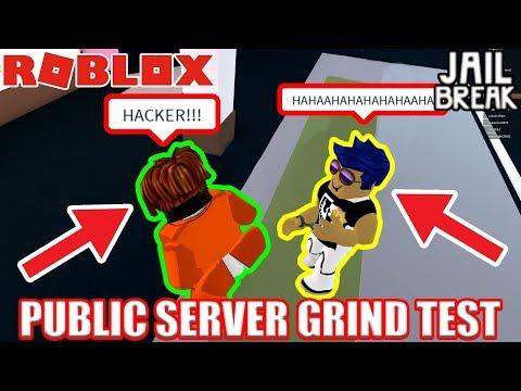 PUBLIC SERVER vs VIP SERVER | Roblox Jailbreak 30 Minute Grinding Test