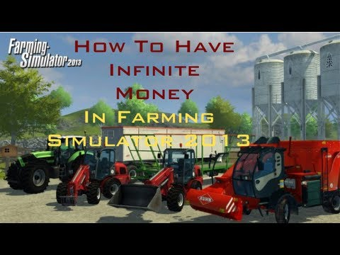 How to have infinite money on Farming Simulator 2013 (Mac)