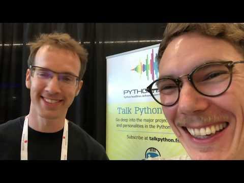 PyCon 2018 Vlog 05 – Side-project Productivity (with Bob Belderbos of PyBites)