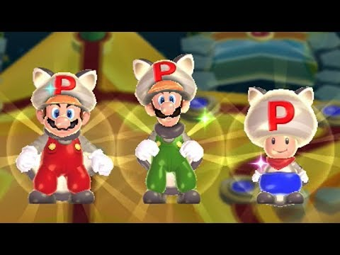 New Super Mario Bros U - All Power-Ups
