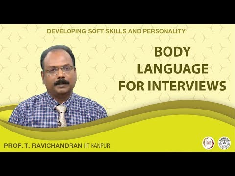 Body Language: For Interviews