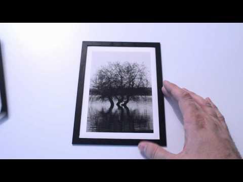 Laser cut photo enlarger frames.