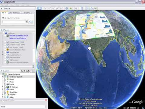 How to add a layer in google earth