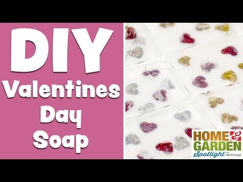 DIY Valentines Day Soap