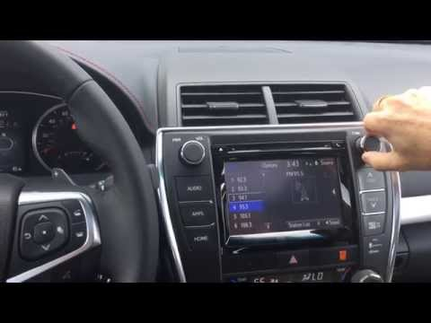 How To: Program a Radio Station in your 2015 Toyota