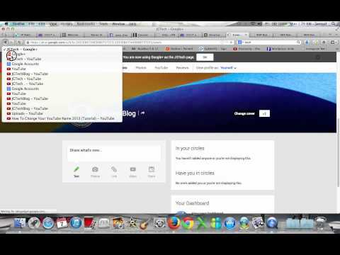 How to change youtube Username, pro pic, and URL! Old & new channels