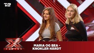 Maria og Bea synger 'Knokler hårdt' - Gilli (Audition) | X Factor 2019 | TV 2
