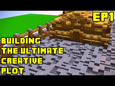 Minecraft: Creative Server Ultimate Plot Build EP1 Xbox/PE/PC/PS3/PS4
