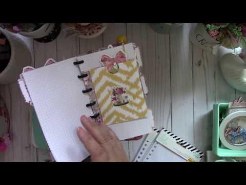 WRMK Planner Punch Board ~ Discbound Planner Set Up