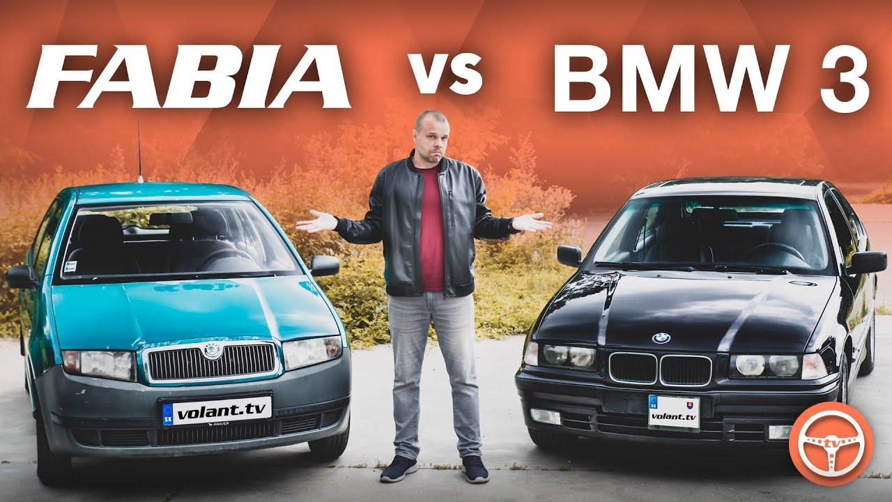 Auto pre začiatočníka: Fabia vs BMW 3 - volant.tv