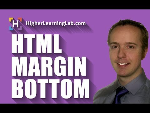 HTML Margin Bottom Using CSS In Detail - HTML Margin Bottom Creates Space On The Bottom