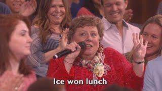 Ellen's Audience Sings 'Teenage Dream'
