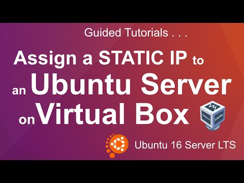 02s Assign a Static IP to the Ubuntu VPS instance in VirtualBox