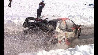86° Rally Montecarlo 2018 + crash