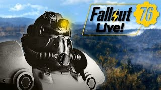 DANGEROUS EXPLORATION! - Fallout 76 PC BETA Gameplay (Archived Livestream)