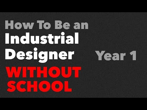 First Year Industrial Design Skills that you MUST know