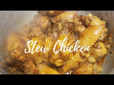 Trinidad  Stew Chicken - Episode 99