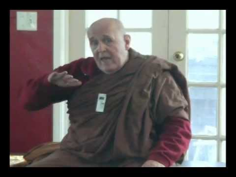 Commentaries Vs. the Suttas - Which is Right? Bhante Vimalaramsi -- Indonesian Temple.