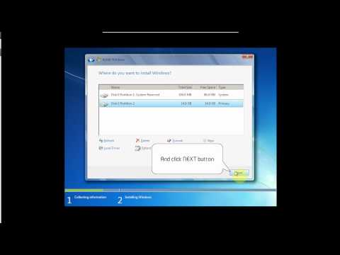 Installing Windows 7 Ultimate 64 with Service Pack 1 - www.vid4.us