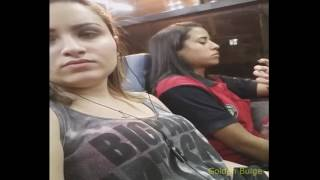 PEN1S PRANK 28 Very Funny Girls In Bus - Can't stop laugh