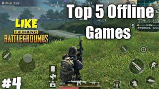 Top 5 Offline Games Like Pubg | Offline Battleground Games